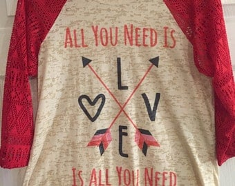 Valentines All You Need Is Love