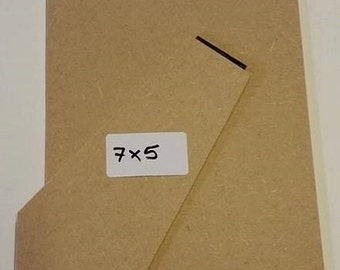 """7"""" x 5"""" 3mm Standback/Strutback for picture/photo frame."""