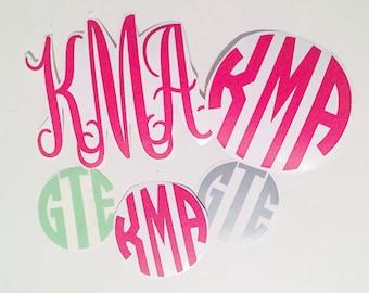Vinyl Monogram