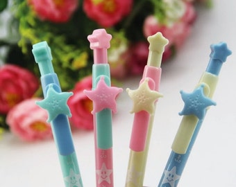 Pastel Coloured Star Pen
