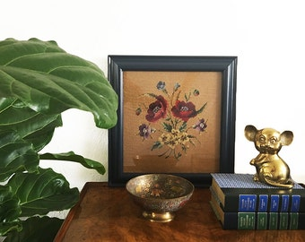 Vintage Embroidery Wall Art