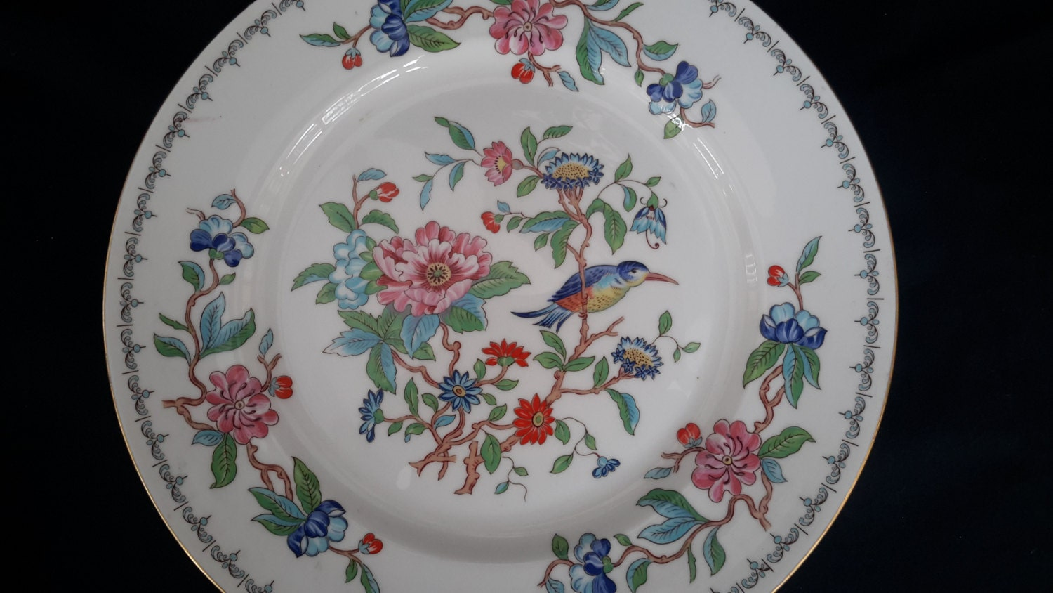 Aynsley Bone China Plate Fine China English China Vintage