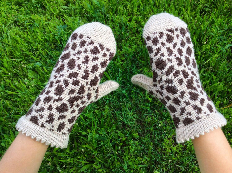 Alpaca Mittens Knitting Pattern : Hand knit mittens Alpaca wool mittens arm warmers womens mitts