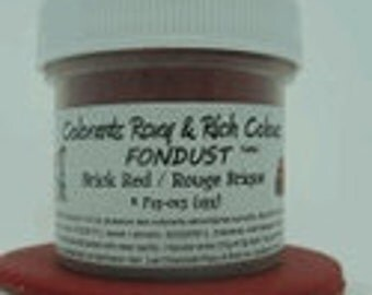 Brick Red Fondust 4 gm