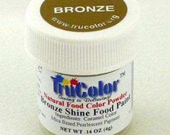 Tru Color Deep Bronze Shine Food Paint 4 gram