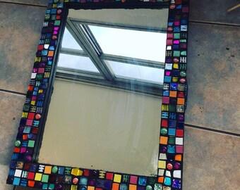 mosaic mirror handmade