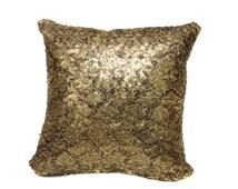 Python Gold Sequin Pillow With Filler Shimmer Pillow Sham Accent Pillow