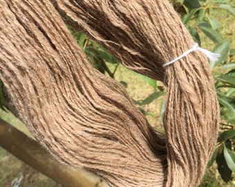 Handspun alpaca yarn. 300m 100g #010616