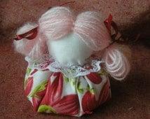handmade amulet, Doll Charm , handmade doll talisman wealth , attract money, handmade , gift for her