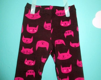 Organic baby leggings, organic baby clothes, Baby Leggings, leggings, Eco Friendly Leggings, cat leggings, toddler leggings