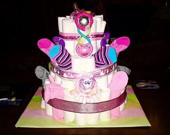 Unique Diaper Cake