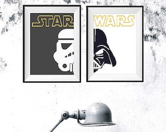 Star Wars Cross Stitch Pattern PDF Instant download