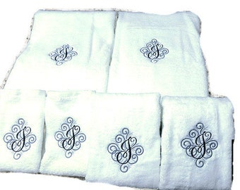 Monogramed Towel Sheet