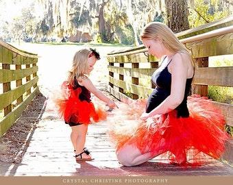 Mother & daughter matching tu-tus