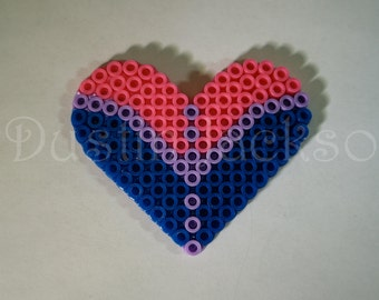 Bisexual Heart Magnet