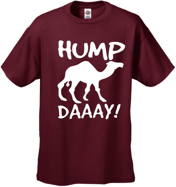hump day camel men 39 s t shirt 1527. Black Bedroom Furniture Sets. Home Design Ideas