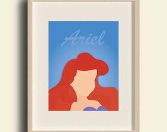 Disney Princess - Ariel Print