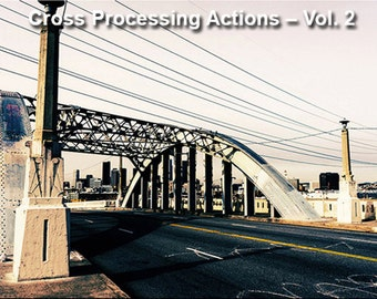 Cross Processing Photoshop Actions – Vol. 2