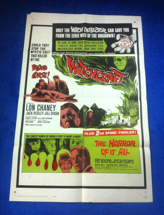 Witchcraft/Horror of it all Movie Poster