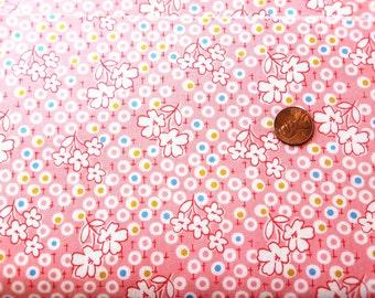 Yardage of Windham Storybook Pink Flowers