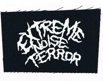 Extreme Noise Terror Punk Patch
