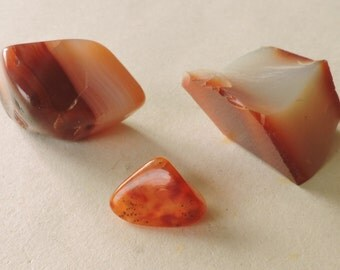 3 small stones