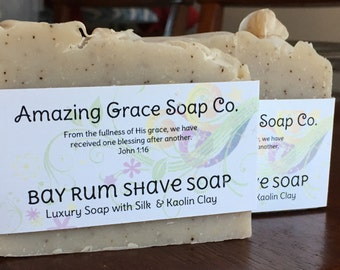 Bay Rum Handcrafted Soap