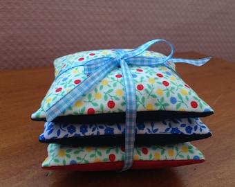 3 Lavender sachets bags