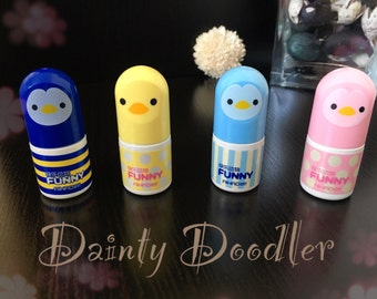 Cute Penguin Correction Fluid / Kawaii / Stationery / Novelty / School / Office / Gift