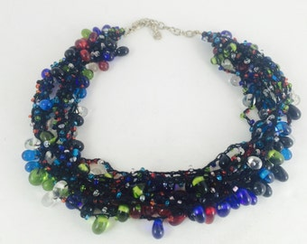 Vintage Murano Glass Beaded Necklace