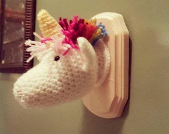 Mounted Unicorn