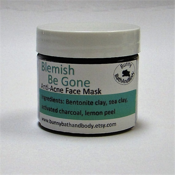 Why Activated Charcoal Is A Must For Skincare Masks: Blemish Be Gone Anti-Acne Face Mask Charcoal Face Mask Clay