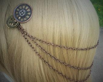 Steampunk Hair Jewelry