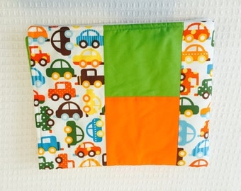Modern patchwork Baby Blanket ... Made to order