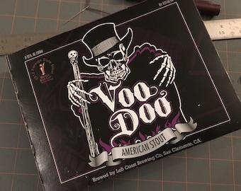 Left Coast Brewing VooDoo Sketchbook - Three Sheets Handcrafted Sketchbooks