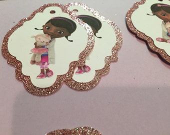 Doc McStuffins inspired tags