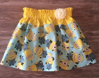 Minions Skirt, Skirt with Minions