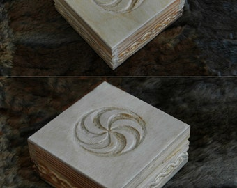 Carved Slavic box