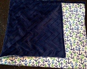 Anchor Minky Blanket