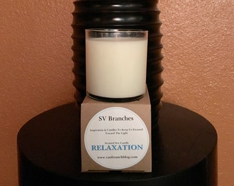 Scented Soy Candle- RELAXATION