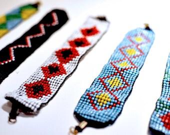 Beaded Tribal Bracelet