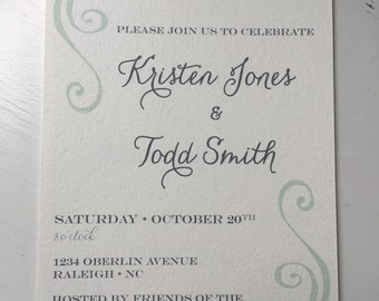 Party Invitation *digital file only*
