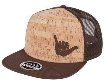 Cork Flatbill Shaka Hat