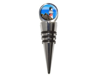 Cape Palliser Lighthouse Wine Bottle Stopper Cork