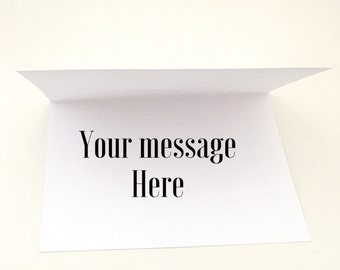 Add a Personal Note to Any Blank Greeting Card