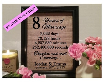 Wedding Gifts For 8 Year Anniversary : wedding anniversary eight years of marriage 8 year anniversary gift ...