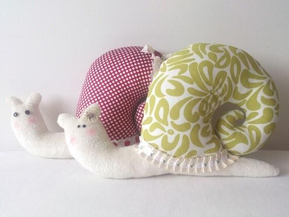 Items similar to christmas sale stuffed snail christmas gift for