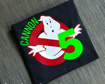 Ghostbusters birthday shirt, Ghostbusters, Ghostbusters birthday