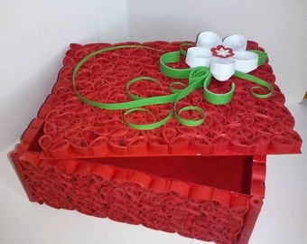 Paper quilling box
