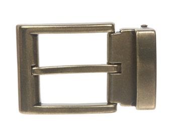 1 1/4 Inch (34 mm) Nickel Free Clamp Belt Buckle (F1004)